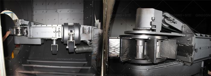 Steel Pipe Outer and Inner Shot Blasting Machine 6