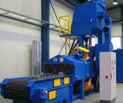 Wire Mesh Belt Shot Blasting Machine 1