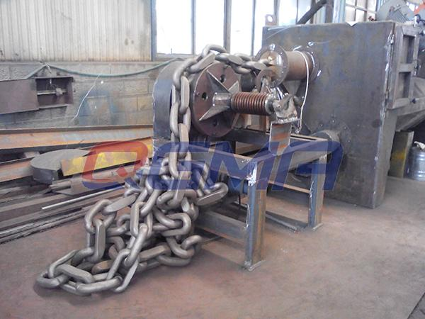 Anchor chain shot blasting machine 4