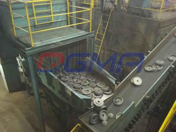 Continuous Tumble Shot Blasting Machine 2
