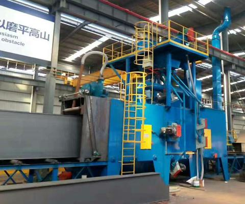 Steel-Structure-Shot-Blasting-Machine-1