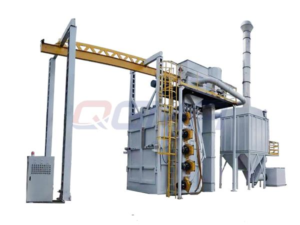 hanger type shot blasting machine 22