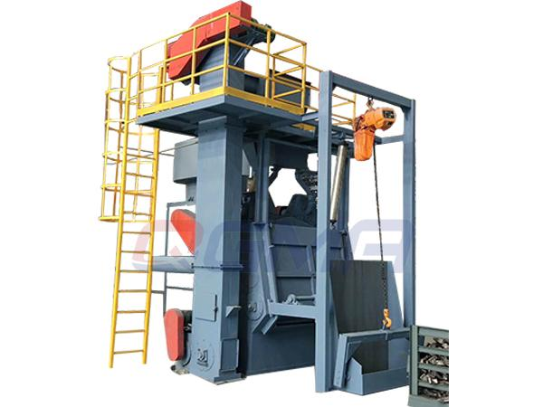 rubber belt shot blasting machine 1