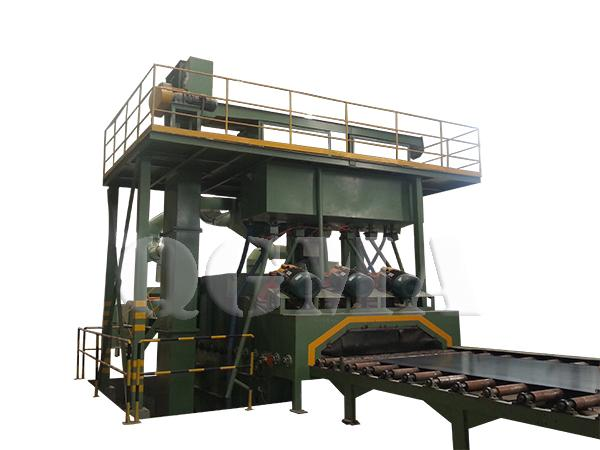 steel plate shot blasting machine 1