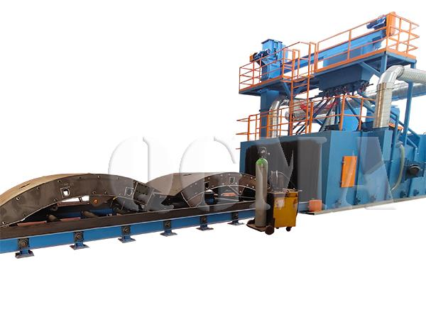 steel structure shot blasting machine 3