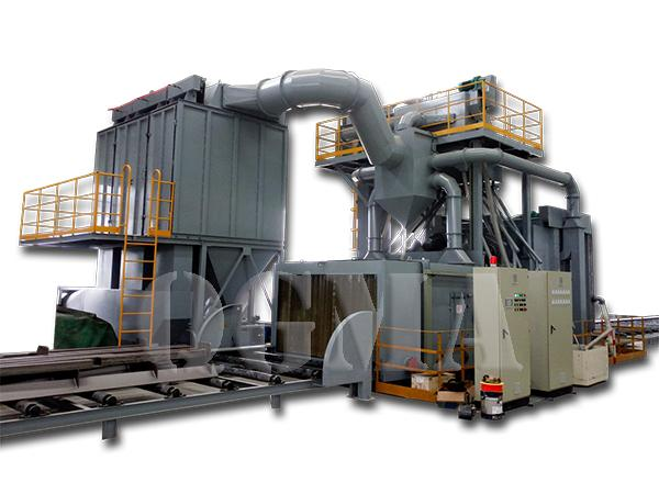 steel structure shot blasting machine 5