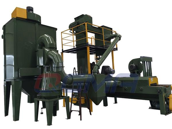 stone shot blasting machine 1