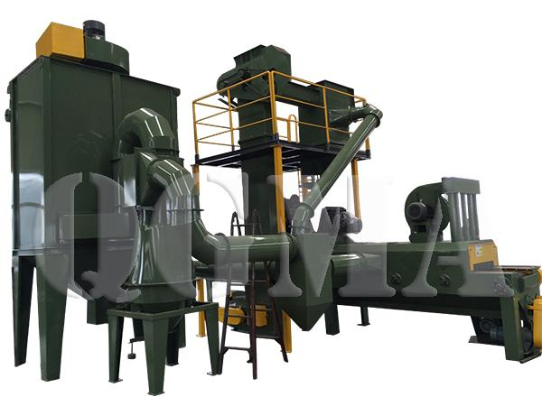 stone shot blasting machine 2