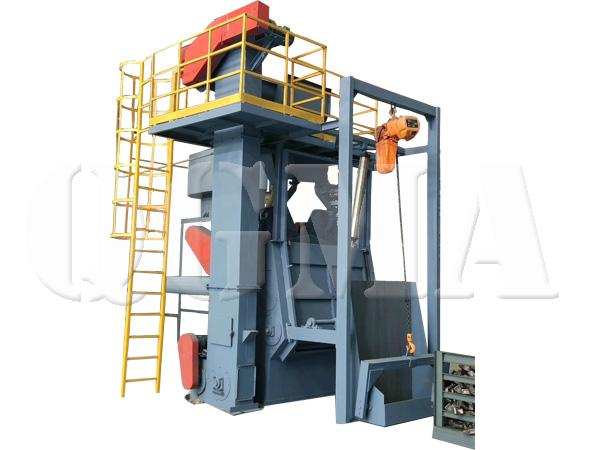 tumble belt shot blasting machine 5