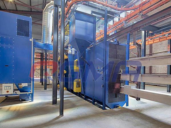 tunnel type shot blasting machine 11