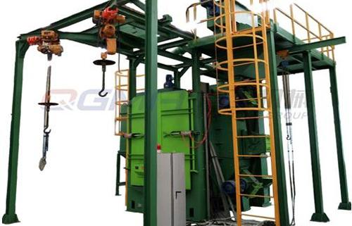 hanger shot blasting machine2