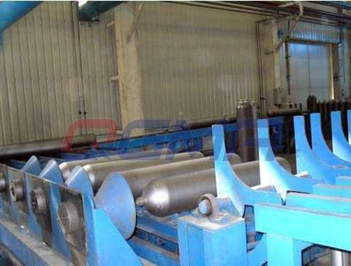 shot blasting machine in cylinder industry