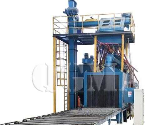 Beams shot blasting machine 4