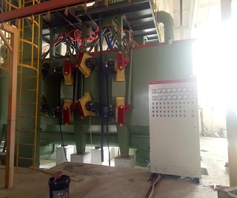 Continuous-working-overhead-monorails-shot-blasting-machine-2