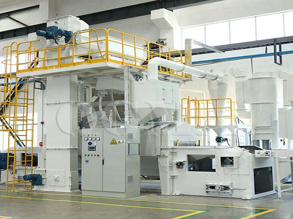 Wire Mesh belt shot blasting machine 2