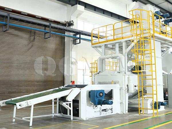 Wire Mesh belt shot blasting machine 3