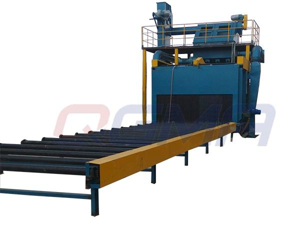 roller conveyor shot blasting machine 05