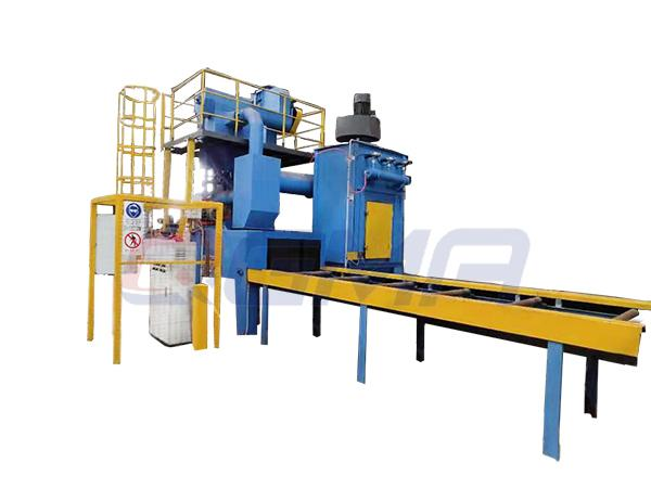 roller conveyor shot blasting machine 22