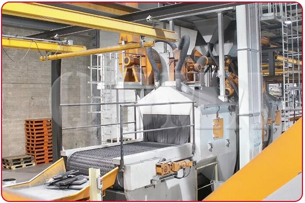 wire mesh shot blasting machine 6