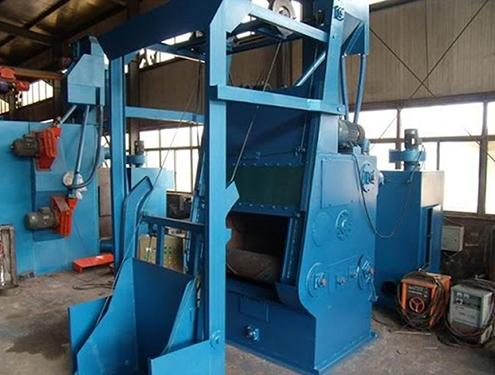 rubber belt shot blasting machine 6