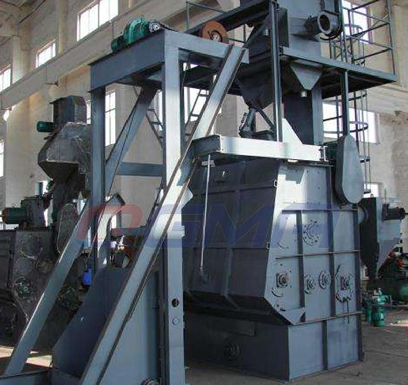 rubber belt shot blasting machine 2