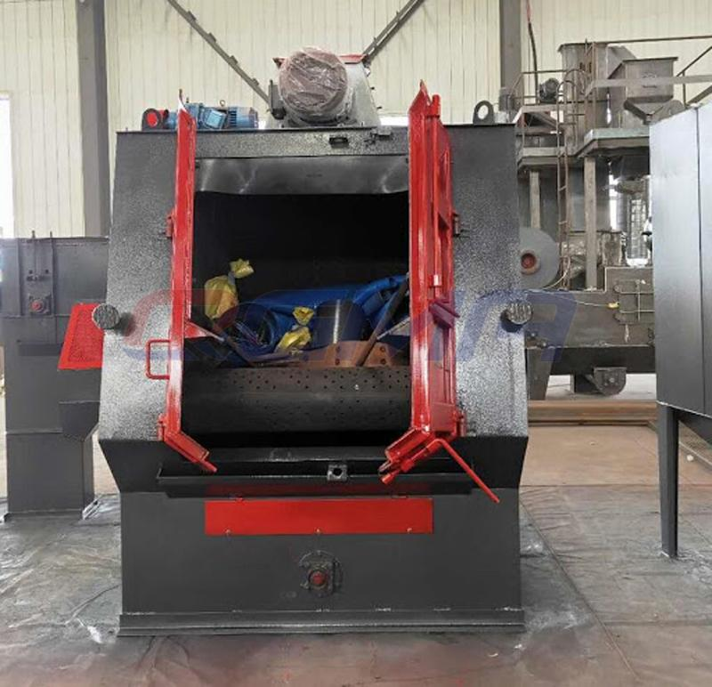 rubber belt shot blasting machine 3