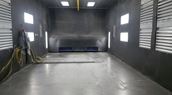Requirements for Sandblasting Room