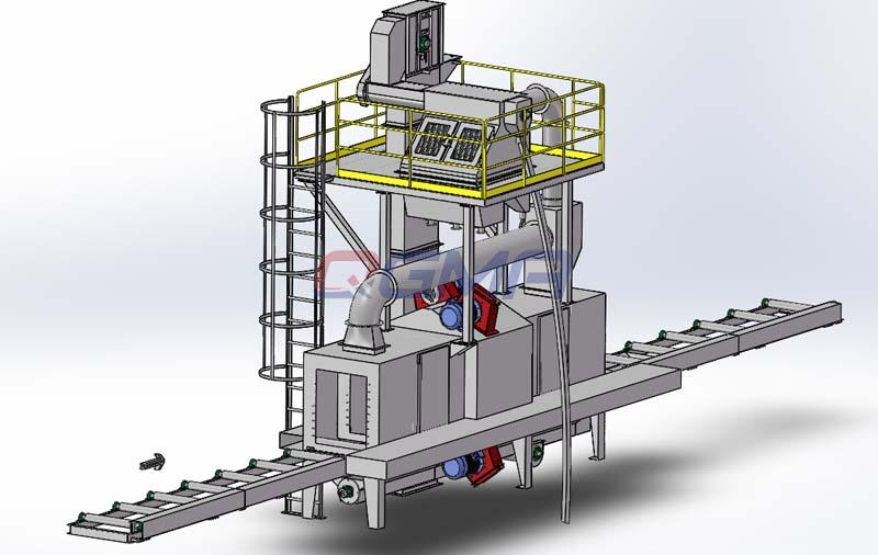shot blasting machine 2