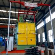 The hanger type shot blasting machine characteristic 3