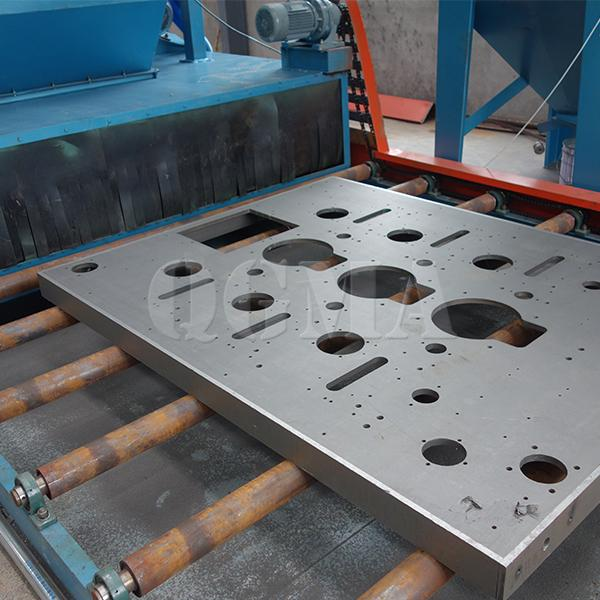 sheet metal welded parts Shot blasting machine 3