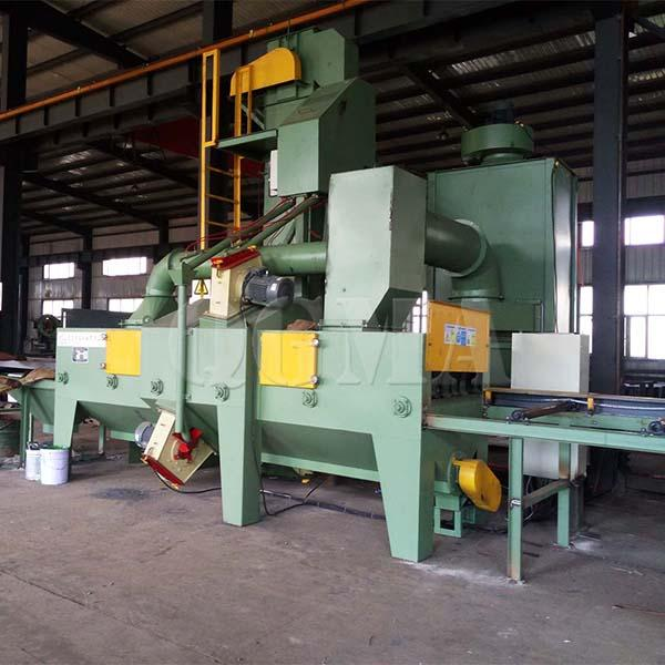 steel channel shot blasting machine 1
