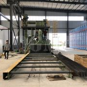 Routine maintenance of roller conveyor shot blasting machine 1