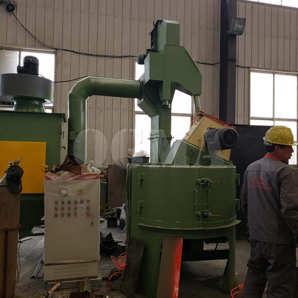Turn table shot blasting machine working principle 3