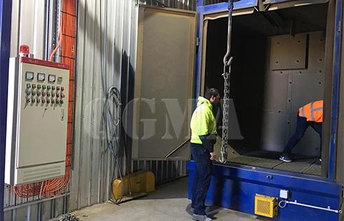 The importance of shot blasting machine guard plate and material