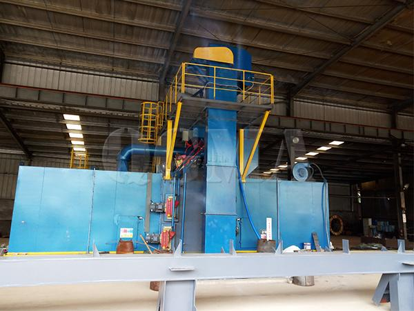 Fault analysis of roller conveyor shot blasting machine 1