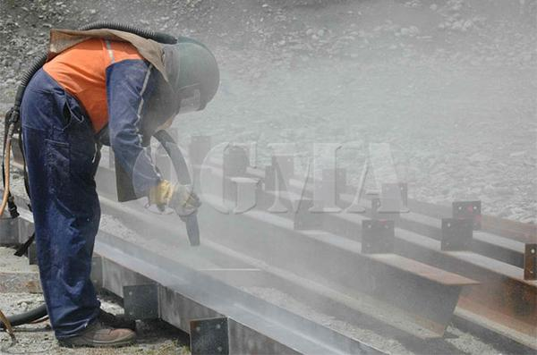 Shot blasting and sand blasting, what is the difference 1