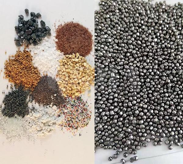 Shot blasting and sand blasting, what is the difference 2