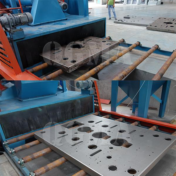 The strength factors of shot blasting machine and whether the blade is easily damaged 3