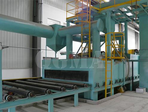 The strength factors of shot blasting machine and whether the blade is easily damaged