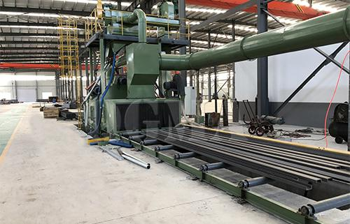 what is the meaning of shot blasting machine 11