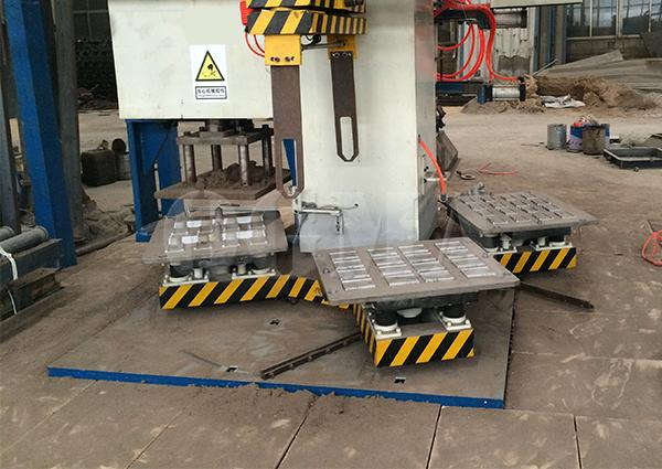 What cause the blade of the shot blasting machine damage and what is the measures2