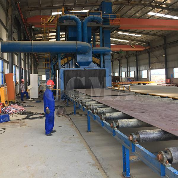 Comparison and analysis between different types of shot blasting machine 1