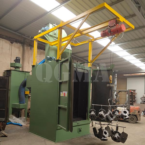 Comparison and analysis between different types of shot blasting machine 3
