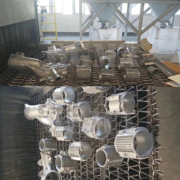 What are the precautions for the wire mesh shot blasting machine 2