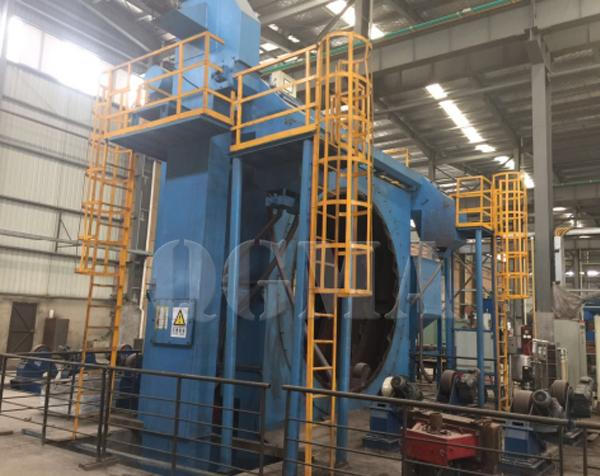 What are the structure and maintenance of the steel pipe shot blasting machine 1