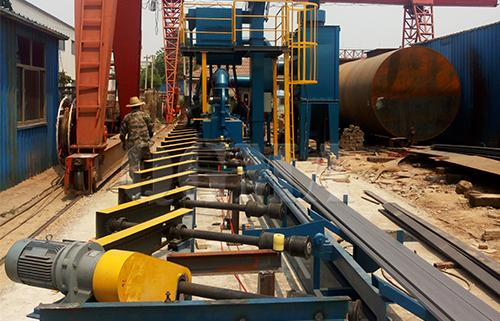 what is the price of steel pipe shot blasting machine