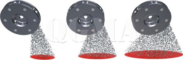 How to adjustment projectile angle of shot blasting machine 2