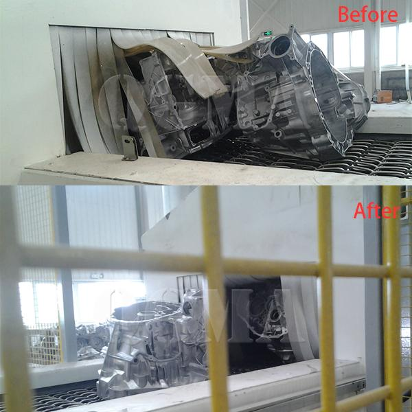 mesh wire shot blasting machine 2