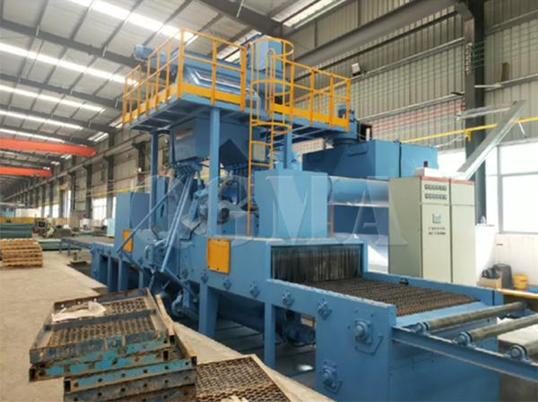 mesh wire shot blasting machine 3
