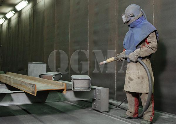 How to operate the sandblasting room correctly 1
